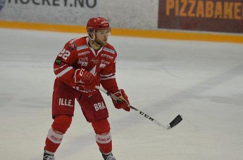 Debut: Sander Rønnild fikk sine første minutter for Stjernens A-lag mot Lørenskog for noen uker siden. (FOTO: Henrik M. Simensen)