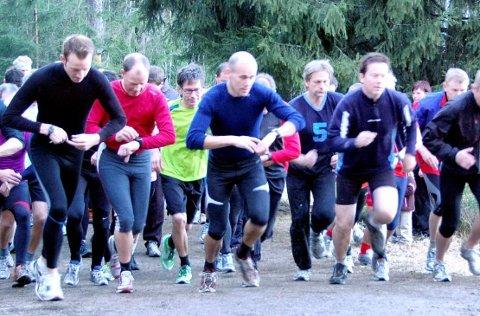 – GOD STEMNING: Borredalen Rundt samlet 40 deltagere i årets første løp (Arkivfoto: Einar Lundsør)