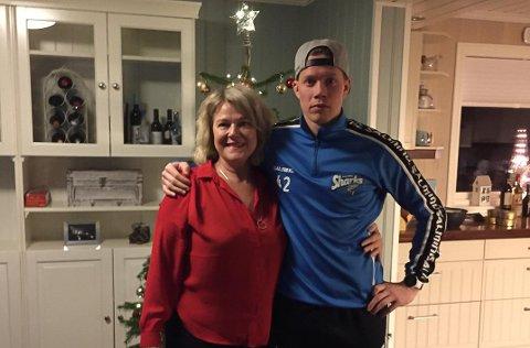 VIL ALDRI GLEMME: Selv om familien Hjemgård tenker på Lennart hver eneste dag, ser mamma Hanne B. Hjemgård og Patrick Hjemgård frem til å feire jul med familien