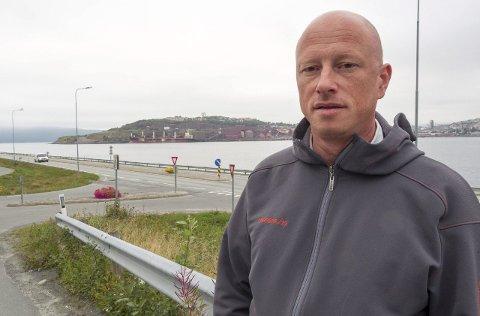 Ikke fornøyd: Narvik-ordfører Tore Nysæter hadde håpet at han ville nå gjennom med sitt forslag om å bevare distriktet som det er i dag, og sette en strek ved Tysfjord. Han mener det er helt feil å følge fylkesgrensen. Arkivfoto: Terje Næsje