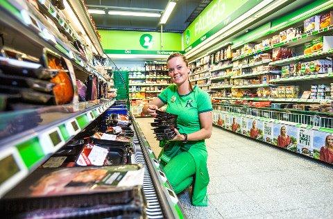 Vekst: KIWI Ankenes har vokst siden dag én med Marianne Ellingsen som butikksjef. Så langt i år har butikken økt omsetningen med 34 prosent sammenlignet med fjoråret.