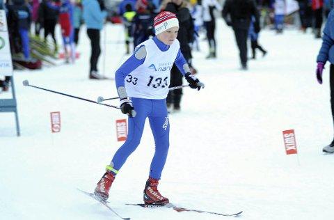 Per Anders Lind havnet på pallen under KM på ski.