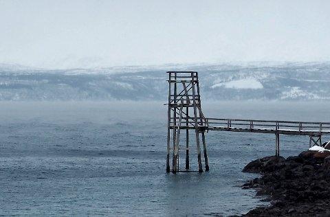 FREDELIG: Stupetårnet i Ornesvika har fått stå i fred de siste dagene.