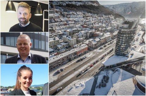 Ikke bekymret: Ingen av hotellsjefene Fremover har pratet med angående Airbnb er bekymret for konkurransen, men Terje Theodorsen og Marlene Føre Frantzen har krav til hvordan det drives. Foto: Montasje