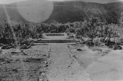 UNDER KRIGEN: Slik så det ut på Haukibrinken under andre verdenskrig. Nå ligger hele området ute til høring med sikte på å bygge boligfelt der.