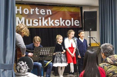 HORTEN MUSIKKSKOLE: Horten Musikkskole er en privat musikkskole som har tilbudt musikalsk opplæring de siste fem årene.