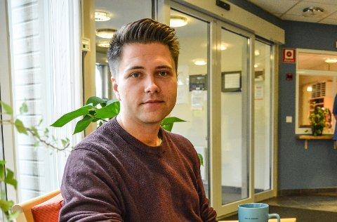 DRAMATISK: Bjørn-Kristian Svendsrud (Frp) synes det er spesielt at opposisjonen ikke tok Sylvi Listhaugs unnskyldning til etterretning.