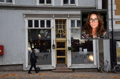 I 25 år har Siw-Renate Gjelseth hatt lokale i Storgata, de siste 19 som frisørsalongen A-Cut.