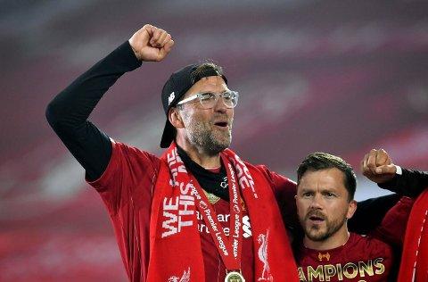 KLAR FOR KAMP: Jürgen Klopp og Liverpool er klar for to treningskamper. Begge kan du se via lokalavisa om du abonnerer på Gjengangeren.