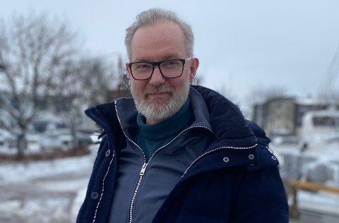 PÅ NIVÅ: Antall smittede i Horten i år er allerede på nivå med antall smitede i hele fjor, kan kommuneoverlege Niels Kirkhus konstatere.