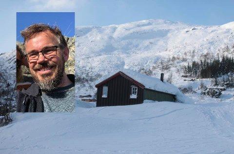 Olav Lauvdals hytte var en av de første i Hunnedalen.