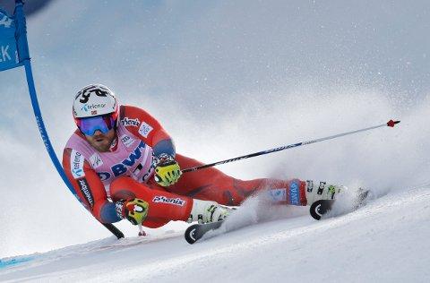 SUPER UTFOR: Kjetil Jansrud var lørdag tilbake i toppen etter nedturen fredag.