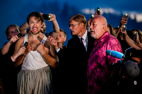 """KAN BLI SPILLEFILM: """"Peer Gynt"""" ved Gålåvatnet sommeren 2018. Jakob Oftebro som den unge Peer Gynt. Nils Ole Oftebro som den eldre Gynt. Regissør Petter Næss har planer om å lage den første spillefilmen basert på Ibsens verdenskjente drama."""