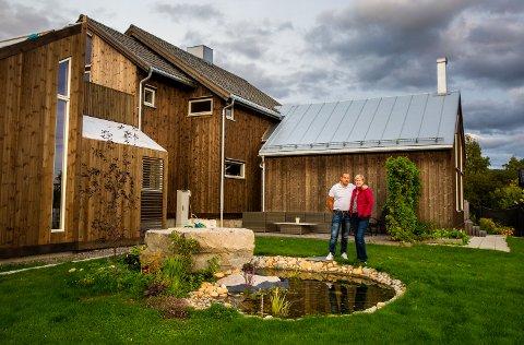 Hjemme hos Miriam Tvedt og Jørn Øybakken i Hovslagervegen 9 i Nordre Ål på Lillehammer.