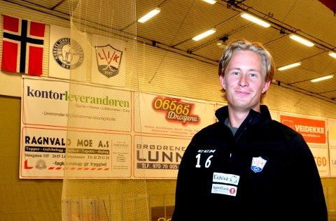 Juliuz Persson (25) kom fra BIK Karlskoga foran denne sesongen, og har startet med å score fire mål på de tre første treningskampene.
