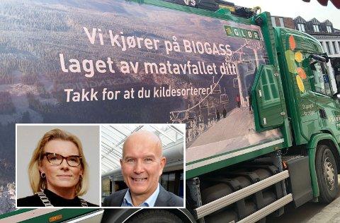 AVKLARING: Innsenderen imøteser en avklaring i kommunestyret om i hvilken grad private relasjoner påvirker spørsmålet om habilitet. Bildet viser ordfører Ingunn Trosholmen og Jan Tore Meren, begge med viktige roller i Glør.