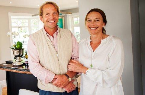 Marius og Gitte Sophie Margarethe Grundt Eidsvold har nye eiendomsplaner i Lillehammer. Nå skal de bygge ut Blessum Terrasse.