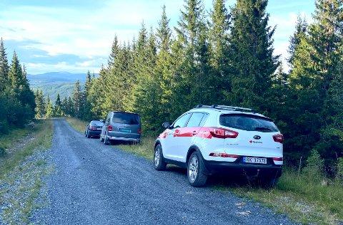 Store mannskaper fra Røde kors, politiet, Norske Redningshunder og Norsk Folkehjelp var i sving for å lete etter 88-åringen som ble meldt savnet i Gausdal vestfjell onsdag.