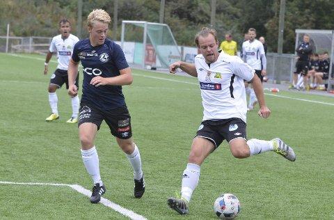 ETT MÅL: Fredrik Halvorsen scoret det første målet da Gran slo Hallingdal på hjemmebane.