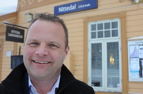 Daglig leder Øystein Gullaksen i Gjøvikbanen.