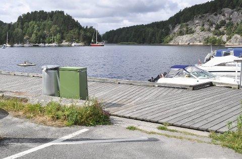Sjøkabel: Her på Verven vil den ene av de nye sjøkablene komme i land. Telenor lover skånsom etablering.