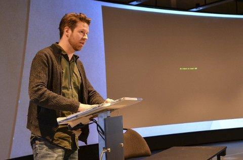 OSCAR-VINNER: Theodor Groeneboom ledet arbeidet med spesialeffekter til filmen «Gravity» og ble belønnet med Oscar.
