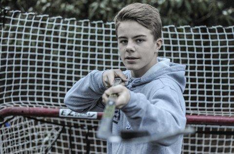 FOR NORGE: Sondre Ahlsen (15) er igjen tatt ut på Norge U16, som skal møte Frankrike, Danmark og Latvia i Skien midt i desember.