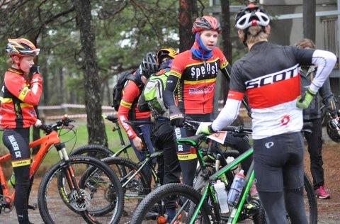 BEST AV GUTTA: Niclas Fotland Holt syklet fortest av guttene.