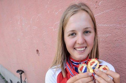 VM: Silje Mathisen ble i sommer tredobbel norgesmester for juniorer. I slutten av måneden sykler hun junior-VM.