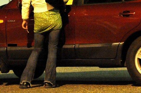 En mann og en kvinne er siktet for å ha mottatt pengeroverføringer fra en rekke sexkunder.
