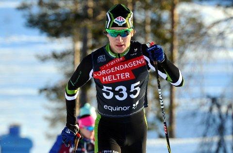 MÅ VENTE: En godt trent Johan Unneberg må vente på sesongåpningen ettersom det er deltakerbegrensning på Beitostølen og norgescupåpningen er utsatt.