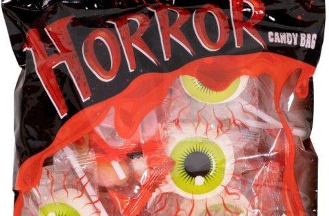 Nille AS kaller tilbake «Horror Candy Bag» som inneholder kjærligheter på pinne. Pinnen kan løsne fra godteriet.