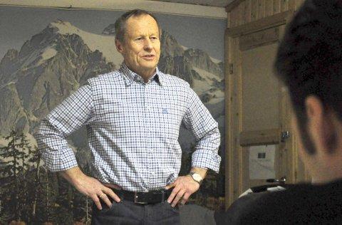 GJENVALGT: Arnulf Wahlstrøm har vært leder av Halden Styrkeidrettslag siden 1980. Slik blir det også i minst ett år til.