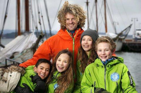 KLATRER: Aleksander Gamme ser fram til å åpne klatrepark i Hamar.