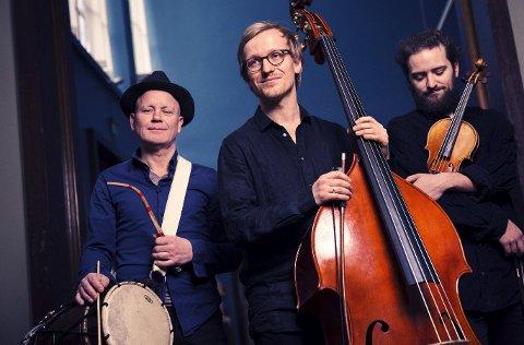 MORGENKONSERT: Sigurd Hole Trio spiller lørdag morgen konsert i Hamardomen.