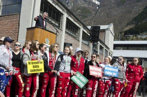 1. mai: LO i Indre Hardanger håpar på same engasjement 15. mai.