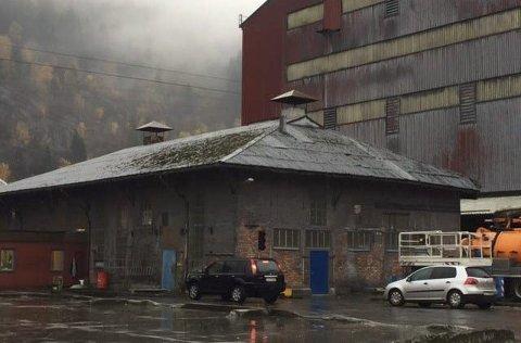 Kulturminne: Plateverkstedet på Smelteverkstomta får støtte fra Kulturminnefondet til restaurering. Foto: Privat