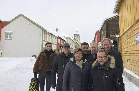 Røros: Ordførarane.foto: S. Bjørgen/Kulturminefondet