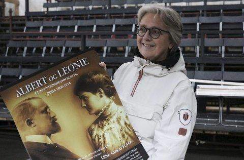 Fikk skryt: Gunn Gravdal Elton står bak musikalen «Albert og Leonie», som har premiere er 6. april. foto: Inga øygard jaastad