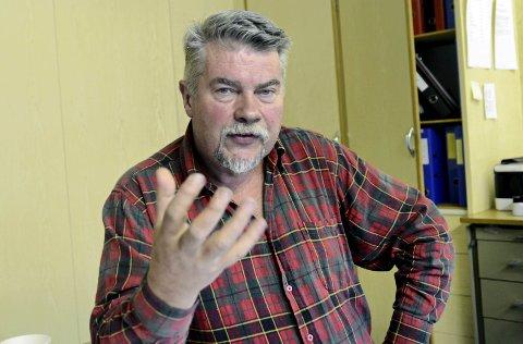 Ynskjer lyntog over Haukeli: Fylkesrepresentant Terje Kolbotn (R). Arkivfoto