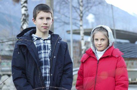 Talentfulle: Nazar og Solomiya Romanyshyn vart handplukka til å spela på Festspillene i Bergen.