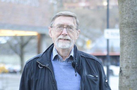 Professor: Reidar Borgstrøm stilte på høyring i Energi- og miljøkomiteen på Stortinget for å snakka om villrein og forvaltning.