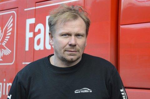 Esso: Thord Paulsen er klar på at noko må skje med drivstoffprisane. Arkivfoto
