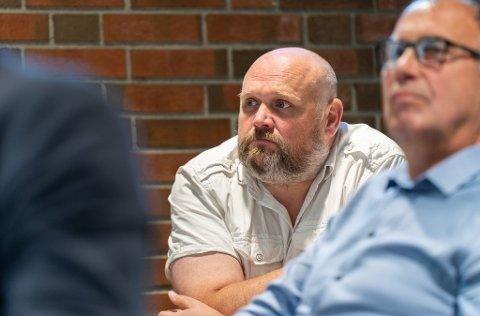 DYRT: Geir Harald Skorpe (H) tror en ikke er ferdig med ekstrabevilgninger for nye Veavågen skole.