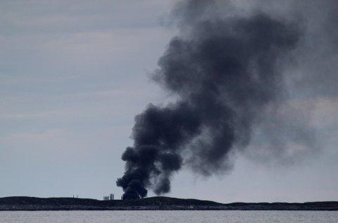 Å brenne avfall er forbudt. Illustrasjonsfoto: Kari-Ann Dragland Stangen