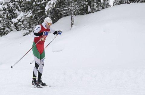 SKI CLASSICS: Tarjei Solli ble nummer 64 i Engadin i Sveits.