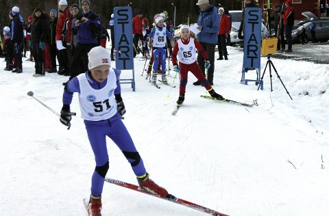 PLASS TIL FLERE: Halsøy IL Ski arrangerer helgas to langrenn på Aufles, og de har god plass til flere deltakere.