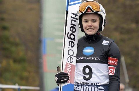 TILBAKE: Eirin Kvannli er glad for å være tilbake i konkurransemodus. Mosjøen-jenta fikk de svarene hun var på jakt etter i Oslo.
