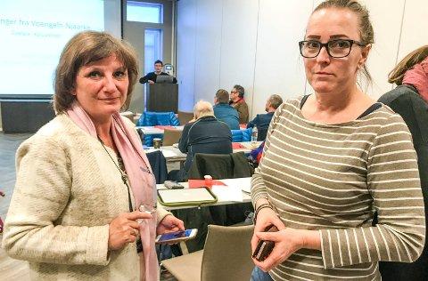 Franziska Wika og Carola Karl Urvik fikk ikke fornyet tillit av velgerne i Vefsn. Vefsn Venstre mister begge representantene de har hatt i kommunestyret.