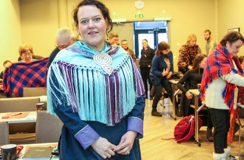 Sametingsråd Silje Karine Muotka var godt fornøyd med vindmøtet som samlet drøyt 60 deltakere.
